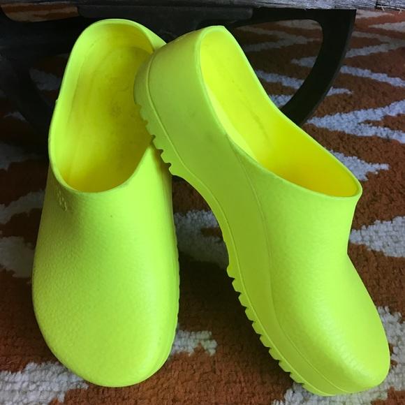 34d2234729b0 Birkenstock Shoes - Birkenstock super birki clog mule in bright yellow